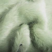 Fausse fourrure au mètre Tissu fausse fourrure super doux vert – 7554 Lichen