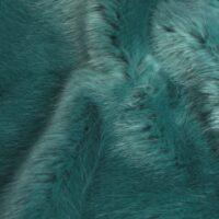 Fausse fourrure au mètre Tissu fausse fourrure super doux vert – 7554 Devon Green